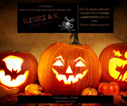 Halloween chez Heure&K
