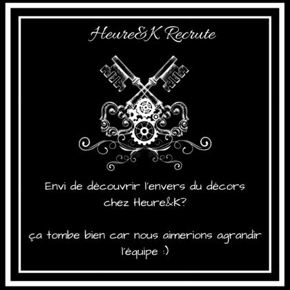 Heure&K Recrute :)