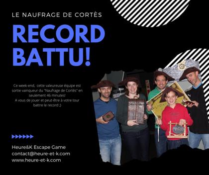 Un nouveau Record
