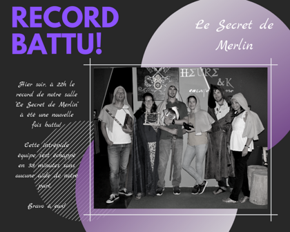 Le Secret de Merlin