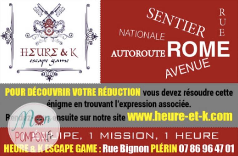 Défi Heure&K sur mon pompon - Bretagne 0