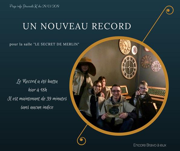 Record battu chez Heure&K 0