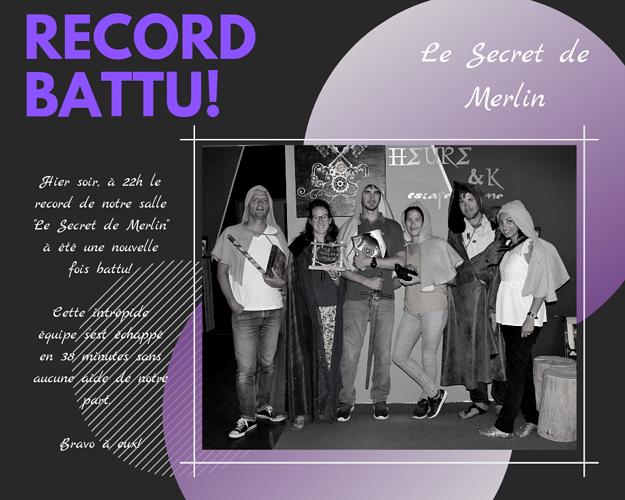 Le Secret de Merlin 0